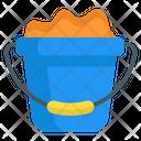 Sand Bucket Sand Bucket Icon