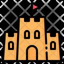 Sand Castle Castles Icon
