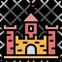 Sand Castle Castle Toy Icon