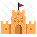 Castle Sand Play Icon