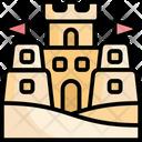 Sand Castle Beach Icon