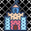 Sand Castle Castle Tower Castle Icon