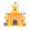 Sand Castle Vacation Icon