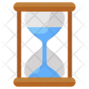 Sand Glass Timer Vintage Clock Icon