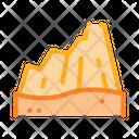 Desert Mountain Sandy Icon