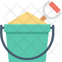 Sand Pail Bucket Icon