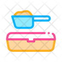 Scoop Sand Tray Icon