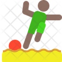 Sand soccer Icon