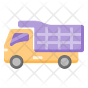 Sand Truck Delivery Truck Delivery Vehicle Icon