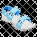 Sandal Footgear Footwear Icon