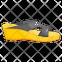 Sandal Footwear Footgear Icon