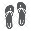 Sandals Footwear Beach Icon