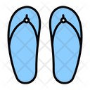 Sandals Footwear Beach Sandals Icon