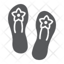 Sandals Footwear Shoes Icon