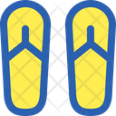 Sandals Beach Foot Icon