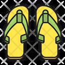 Sandals Footwear Summertime Icon