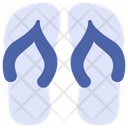 Sandals Thongs Flip Flop Icon