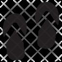 Sandals Flipflop Icon