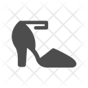 Sandals Heel Shoes Icon