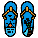 Sandals Flip Flops Icon