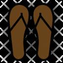Sandals Beach Wear Icon