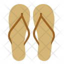 Sandals Beach Wear Icon