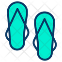 Sandals Slippers Flipflop Icon