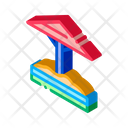Sandbox Protective Umbrella Icon