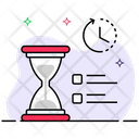 Sand Clock Hourglass Timmer Icon