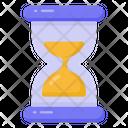 Vintage Timer Sandglass Sand Clock Icon
