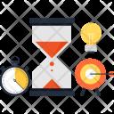 Sandglass Hourglass Target Icon