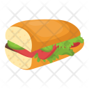 French Bread Baguette Icon
