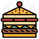 Sandwich Cheese Food Icon