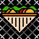 Sandwich Bread Meal Icon