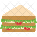 Bread Breakfast Club Sandwich Icon