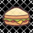 Food Sandwich Breakfast Icon