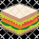 Baked Bakery Bread Icon
