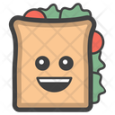 Sandwich Breakfast Club Sandwich Icon