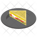 Sandwich Fast Food Junk Meal Icon