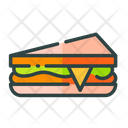 Sandwich Bread Club Sandwich Icon