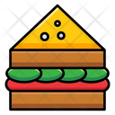 Sandwich Burger Junk Food Icon