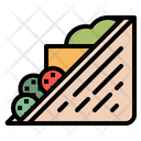 Sandwich Food Snack Icon