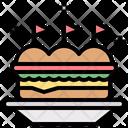 Sandwich Junk Food Fast Food Icon