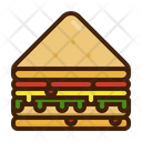 Sandwich Bread Egg Icon