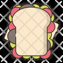 Sandwich Juckfood Fastfood Icon