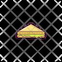 Sandwich Slice Bakery Icon