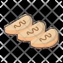 Sandwich Bread Bakery Icon