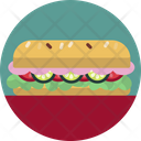 Food Sandwich Meal Icon