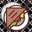 Sandwich Grilled Sandwich Bread Icon