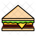 Sandwich Fast Food Bread Icon